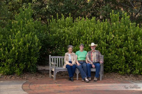 At the garden in Athens, GA