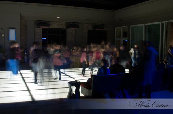 3 second exposure of the dance floor
