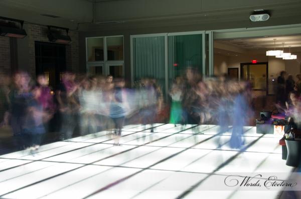 4 second exposure of the dance floor